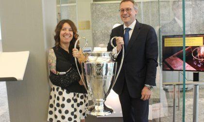 Champions League e la Coppa del Mondo esposti in Assolombarda
