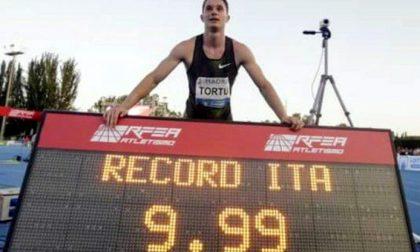Filippo Tortu è l'italiano più veloce di tutti i tempi: 9.99!