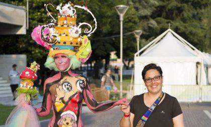 Body painting, Stefania e Cristina brillano ai Campionati italiani LE FOTO