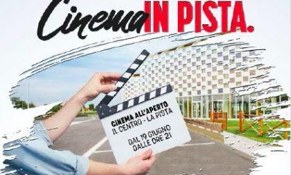 """""""Cinema in pista"""" ad Arese per un'estate magica sotto le stelle"""