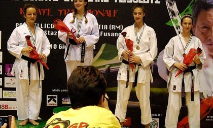 Karate, la gaggianese Raissa Varieschi terza ai Campionati italiani