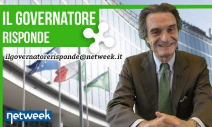 Scrivete al presidente della Lombardia Attilio Fontana   Il governatore risponde