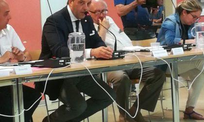 Cattaneo assessore, debutto di Cantoni in aula
