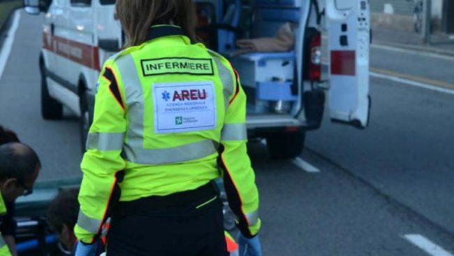 Giovani tra i 20 e i 25 anni soccorsi dopo un incidente SIRENE DI NOTTE