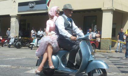 Moto club Magenta, sfila l'eleganza - VIDEO