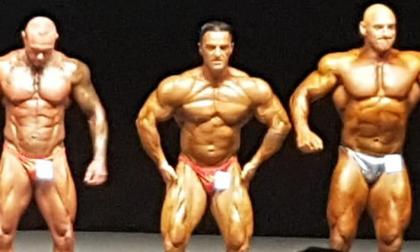 Podio nazionale e quinto posto mondiale per il bodybuilder Maurizio Colpo