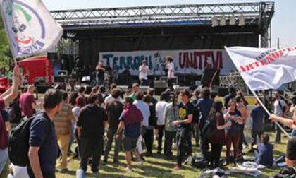 Dopo festival antirazzista a Pontida, striscione contro Balotelli