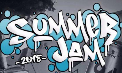 Summer Jam, dj set e graffiti a San Giorgio