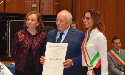 Cavaliere del Lavoro, l'onorificenza a Cipriano Vergani