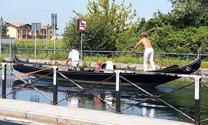 Gaggiano come Venezia, tra gondole e... acqua alta
