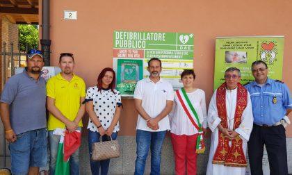 Inaugurato a Dairago il secondo defibrillatore automatico esterno FOTO e VIDEO