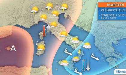 Come sarà il tempo a fine luglio? Ecco le previsioni