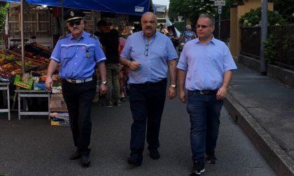 Mercato Cassina Ferrara, sindaco e assessore fanno sopralluogo