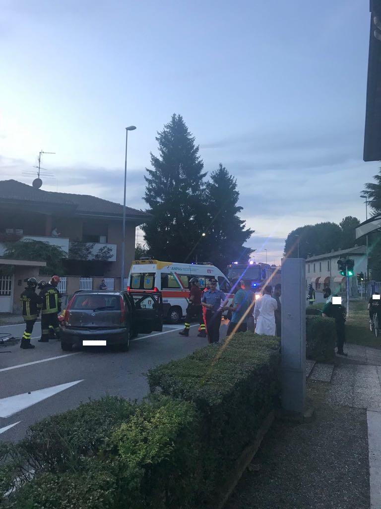 Castano Primo, grave incidente in via Gallarate