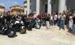 Rombo dei motori per dire addio a Luca Bonfiglio VIDEO