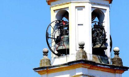 Gaggiano, Sant'Invenzio: campane mute e orologio fermo