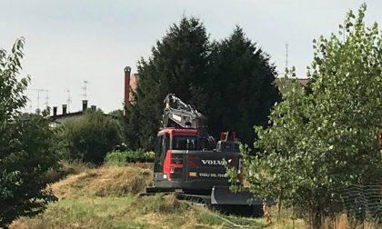 """Vigili del Fuoco a Inveruno per un'operazione """"green"""""""