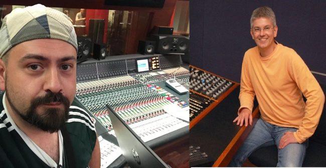 Il sanvittorese Marco Maggiore registra negli studi dei Beatles