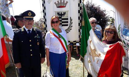 Chiara Calati alla commemorazione dell'eccidio di Sant'Anna di Stazzema FOTO