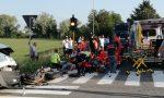 Incidente a Rho, motociclista grave FOTO