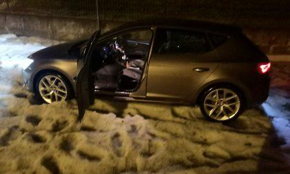 Grandine come neve a Vedano, strade allagate e alberi abbattuti FOTO