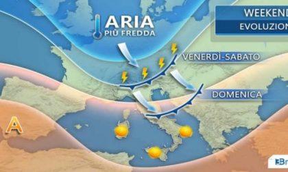 Estate in crisi nel weekend: temporali e tracollo termico PREVISIONI METEO LOMBARDIA