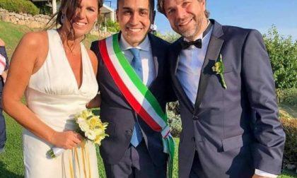 Luigi Di Maio celebra le nozze sul lago di Garda