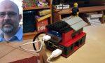 Rescaldina, il sindaco diventa inventore e realizza un pc con i Lego