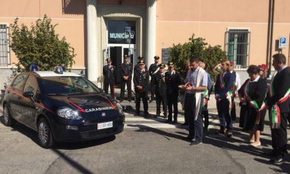 Nuova auto ai carabinieri: il dono di cinque Comuni - LE FOTO