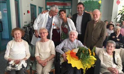 Grande festa per i 106 anni della super nonna Giovannina
