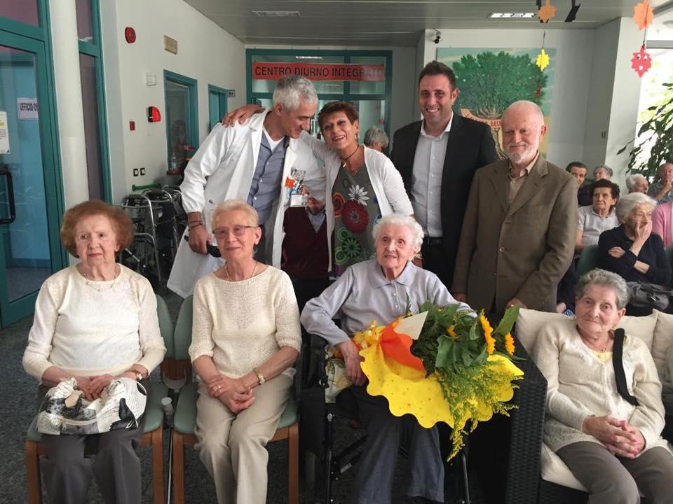 Castano Primo, Giovannina Re compie 106 anni