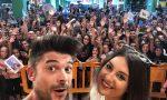 Bagno di folla per Luca & Katy all'Auchan di Rescaldina LE FOTO
