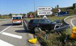 Colpo di sonno in superstrada: giovane contro il guard rail