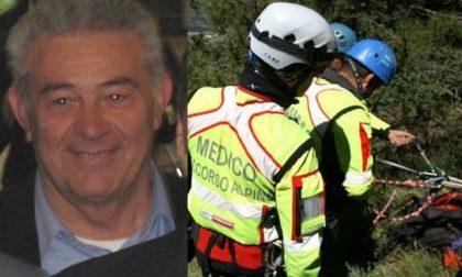 Tragedia in montagna: morto l'ex sindaco Giorgio Bienati