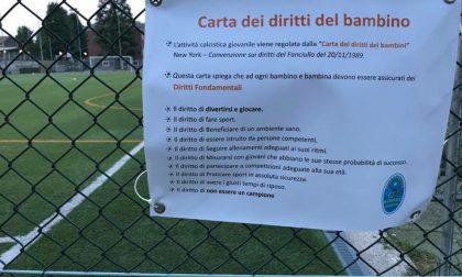 """Airoldi Origgio Calcio: """"I bambini hanno il diritto di divertirsi senza essere campioni"""""""