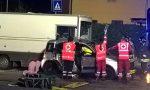 Incidente sul Sabotino, auto contro furgone dei panini