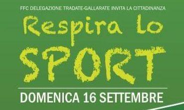 Respira lo sport: uniti per sostenere la ricerca