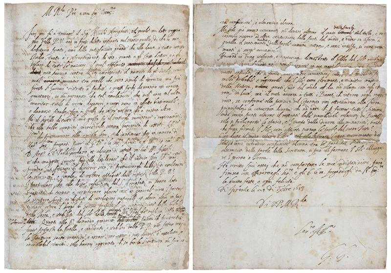Galileo Galilei, la lettera eretica ritrovata dall'Università di Bergamo