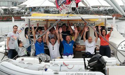 Gita in catamarano per i ragazzi diversamente abili VIDEO