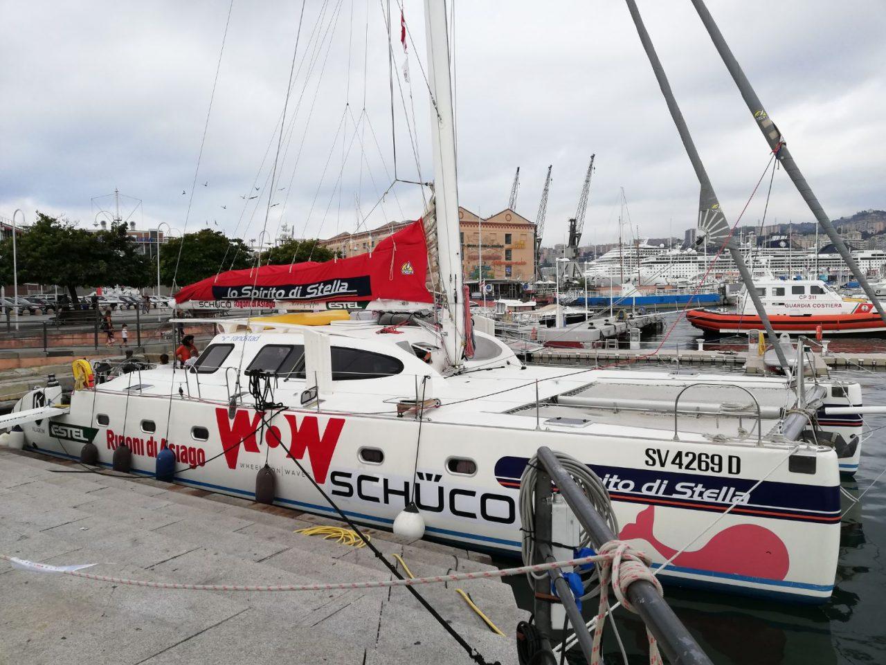Gita in catamarano per i ragazzi diversamente abili