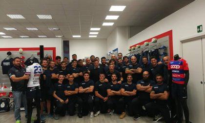Presentate a Legnano le nuove maglie del Rugby Parabiago FOTO e VIDEO