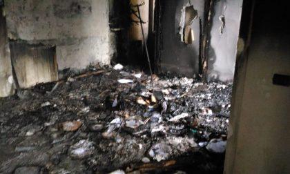 Incendio in Villa Rosa: distrutta la ex reception