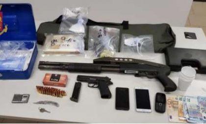 Arrestato 31enne a Milano, armi e droga nella sua abitazione
