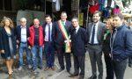 Il governatore Fontana a spasso per il mercato di Rho FOTO