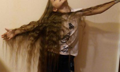I capelli più lunghi del mondo? Di una bimba di Nerviano FOTO
