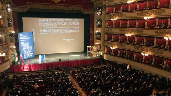 Assemblea Assolombarda al Teatro alla Scala: &#8220&#x3B;No a Stato paternalista&#8221&#x3B;