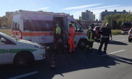 Grave incidente stradale sul Sempione a Rho FOTO