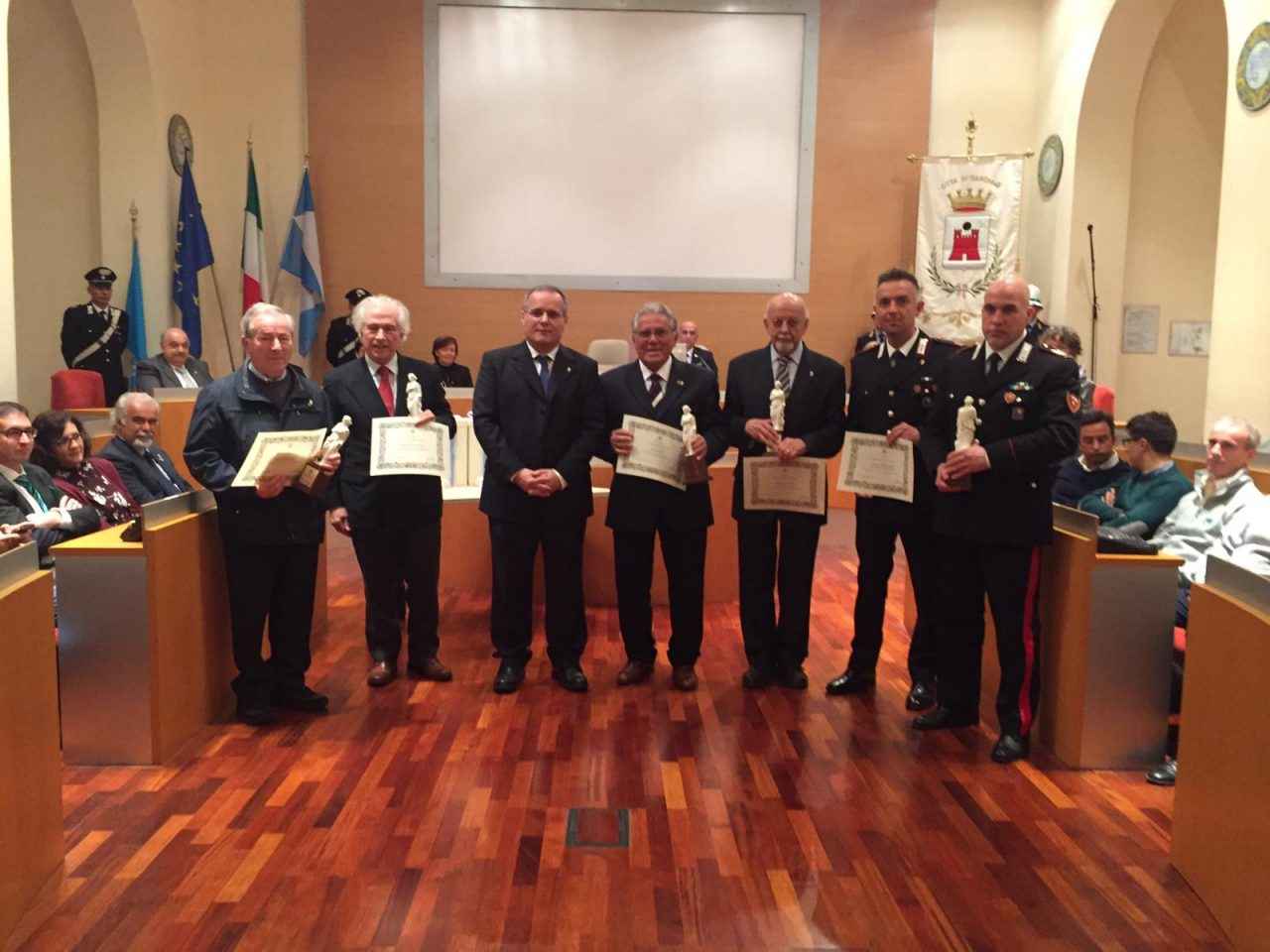 Ciocchina 2018: premiati i benemeriti di Saronno