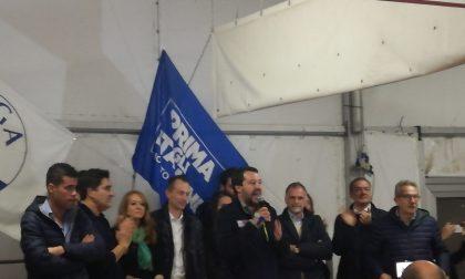 Salvini a Garbagnate: un bagno di folla – IL VIDEO
