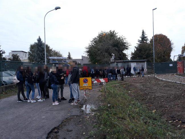 Inveruno, sciopero studenti Marcora